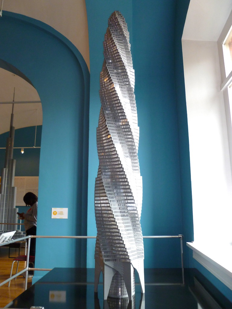 Chicago Spire Lego Architecture Exhibit National Buildin