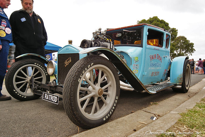 Wild rat rod  Wow What a weekend 1350 hot rods from arou  Flickr