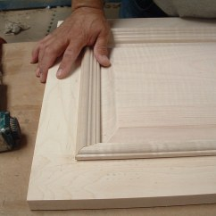 Making Kitchen Cabinet Doors Acrylic Cabinets Applied Molding Eagle Bay