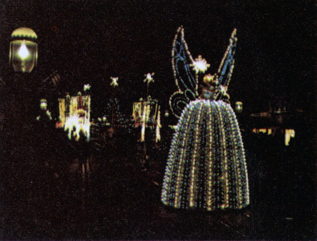 Main Street Electrical Parade Blue Fairy 1973  Tom