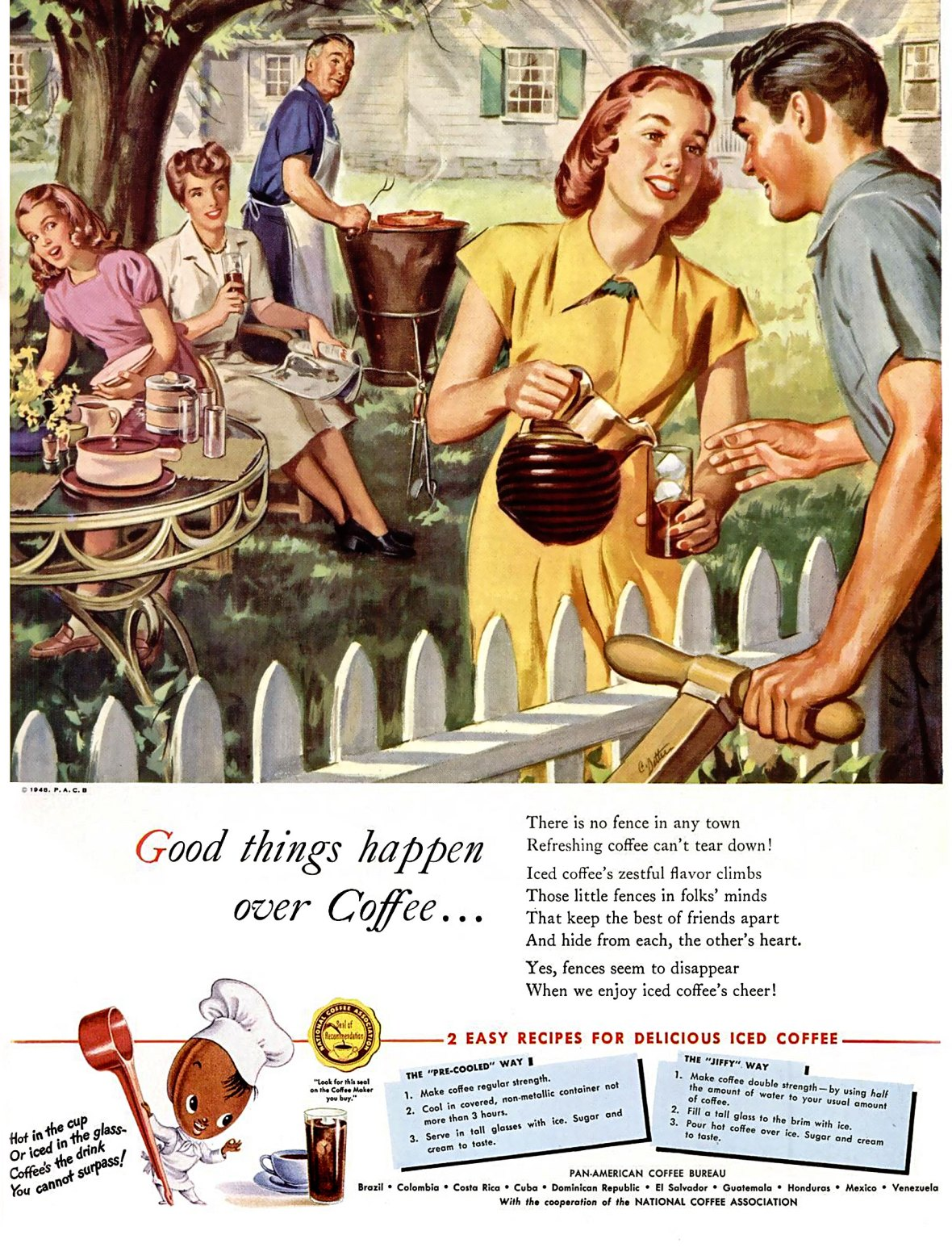 Pan-American Coffee Bureau - 1948