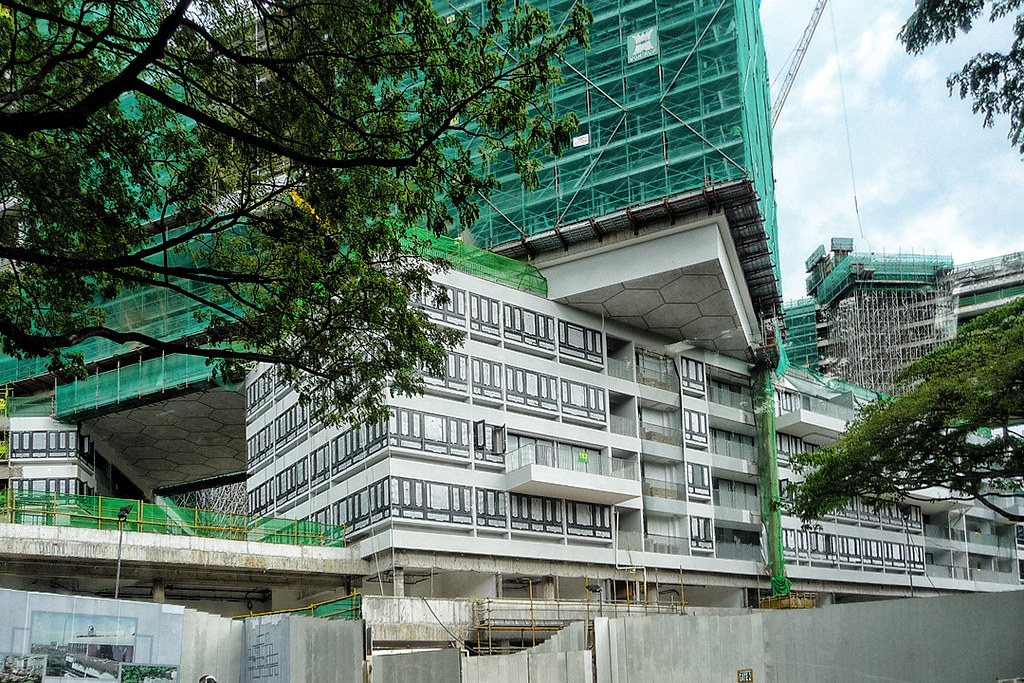 The Interlace  Construction of 31 residential apartment