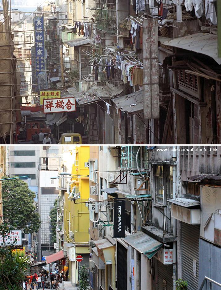 上環 - 東街,荷李活道 交界 1972   「 我,在這裡已經很久了, 自知外表不怎樣顯眼, 現在甚至殘舊得惹人 ...