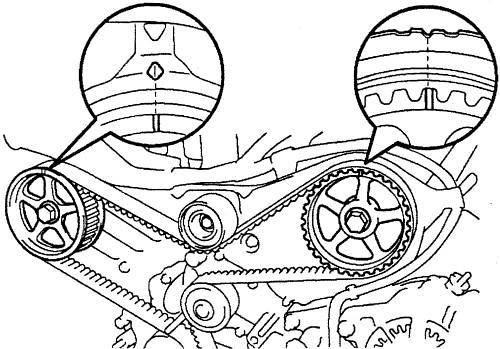 Toyotum Celica Timing Belt Diagram