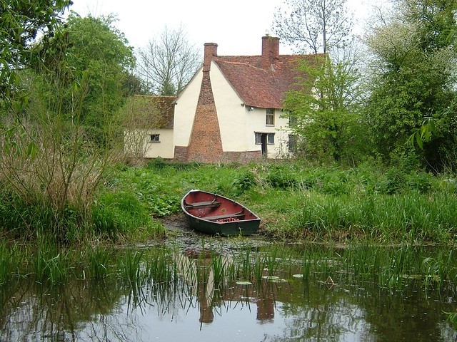 Willy Lotts Cottage as painted in The Hay Wain  Flickr