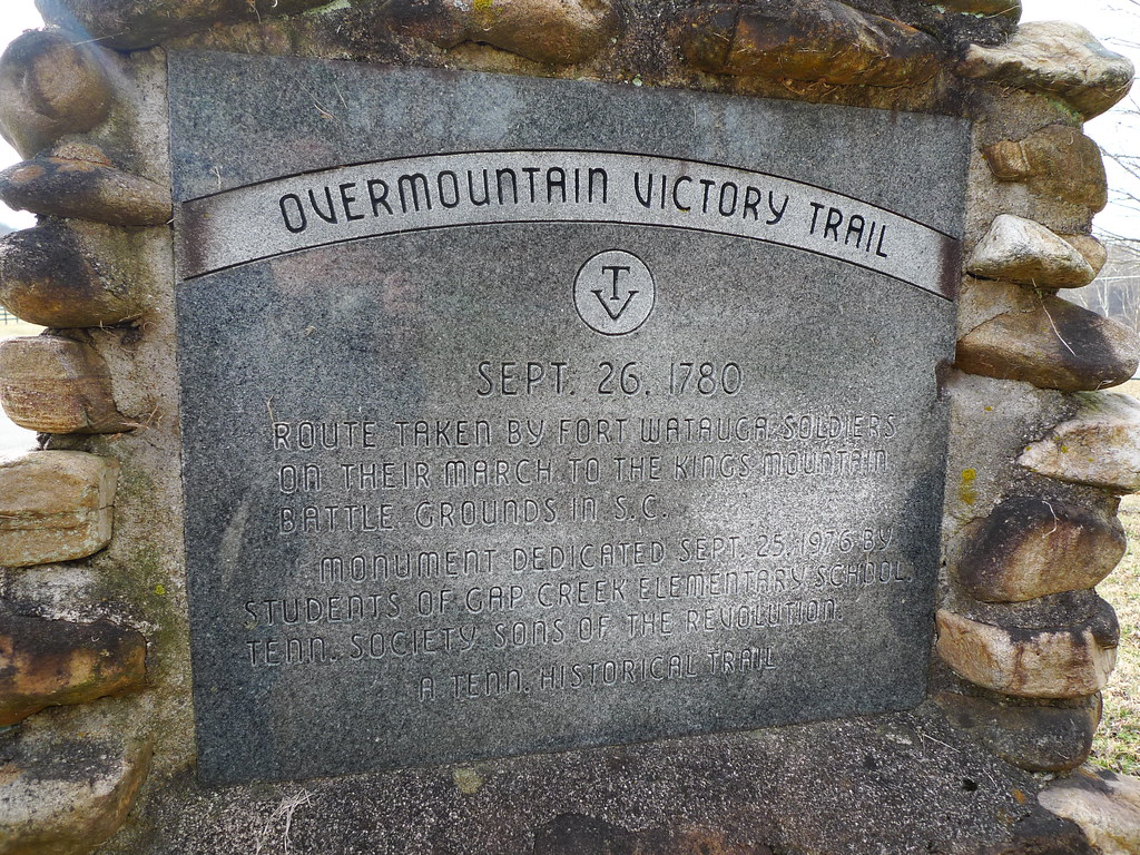 Overmountain Victory Trail  Sept 26 1780 Route taken by