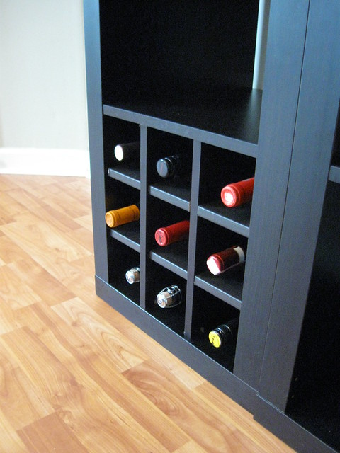 Ikea expedit wine storage  Flickr  Photo Sharing