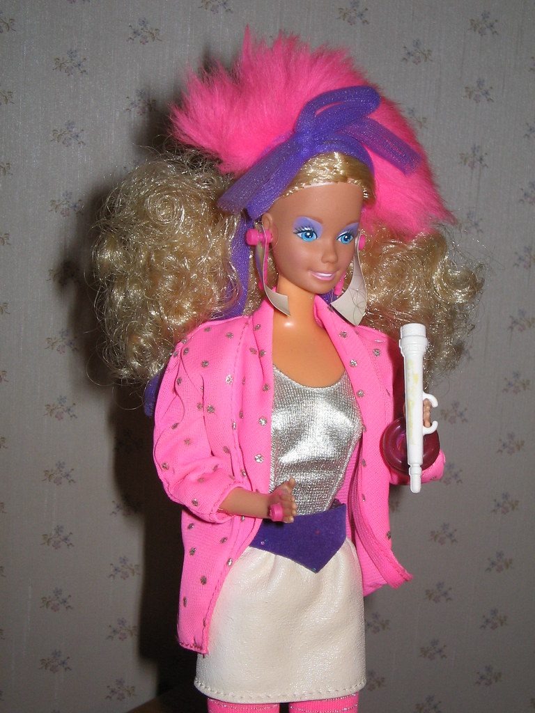 Barbie rockstar 1985  Lultima Barbie ricevuta in regalo