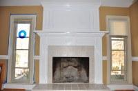 brick fireplace makeover | www.thefinishingcompany.net ...