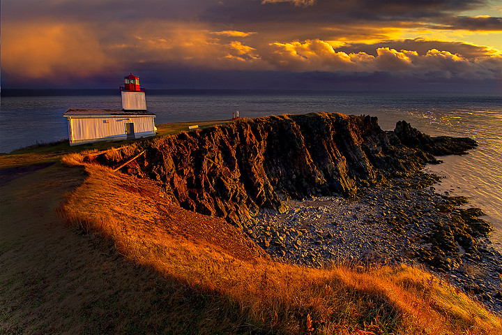 Cape DOr Lighthouse Nova Scotia Canada  This is an image  Flickr