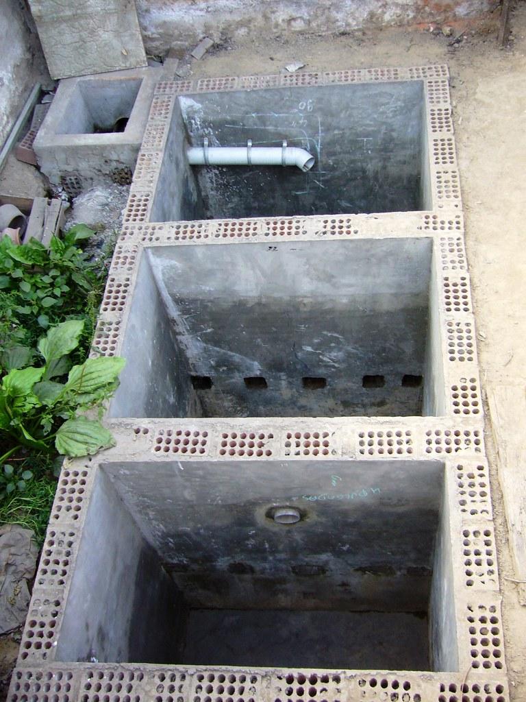 septic tanks construction
