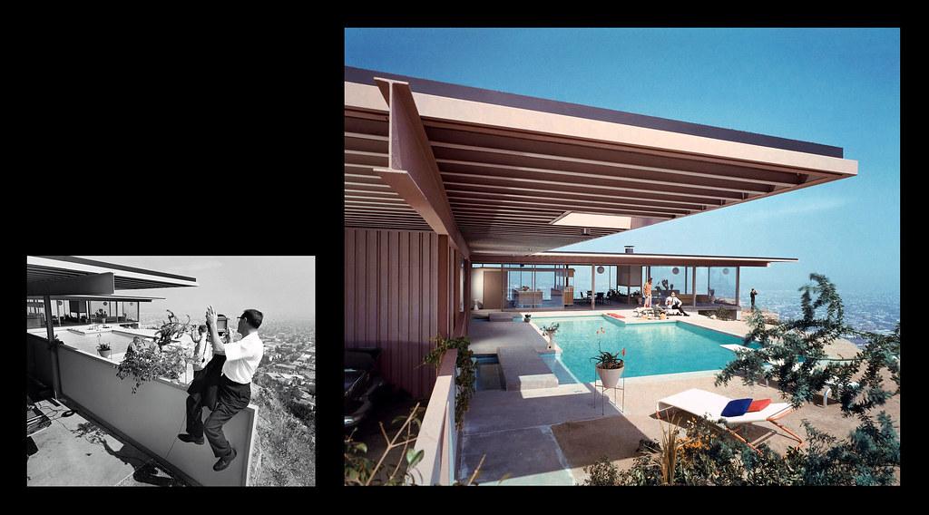 Julius Shulman photographs Case Study House 22 c 1960