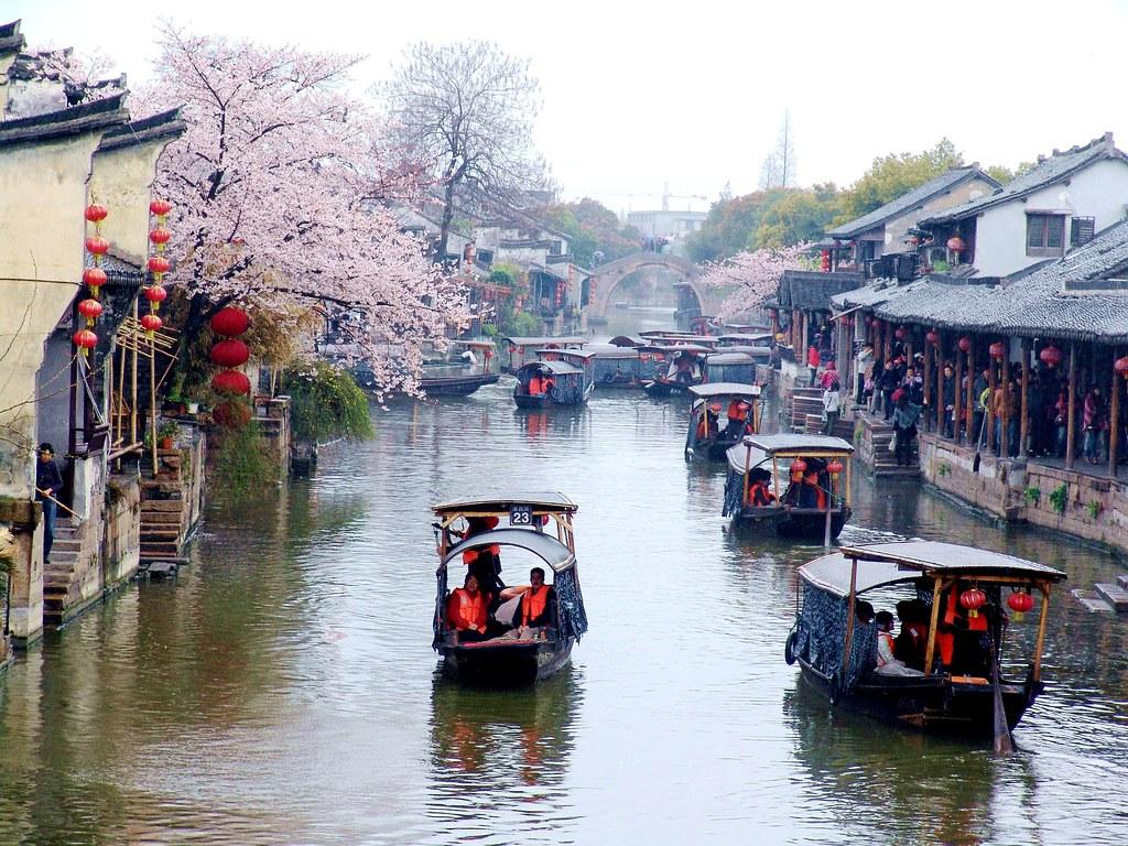 江南水鄉古運河-浙江省-嘉興-嘉善縣西塘鎮4 (Old houses and canal since Ming Dy…   Flickr