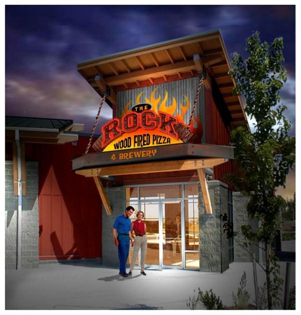 Exterior Restaurant Design Themed Rend