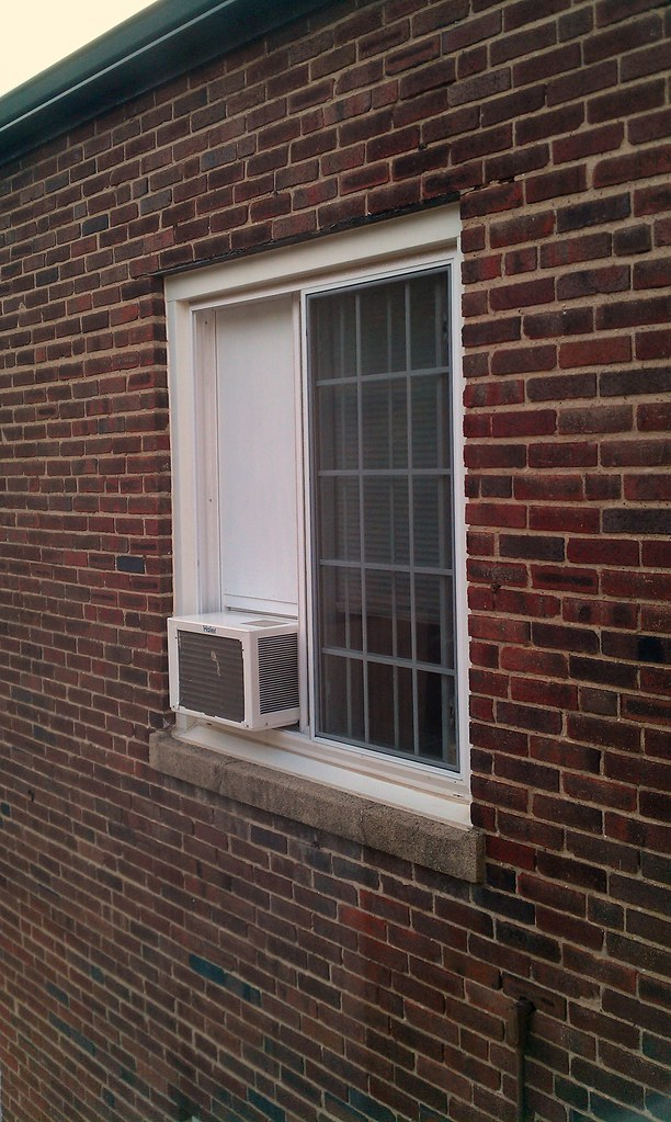 window air conditioner for sliding window