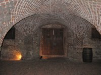Barrel Vaulted Ceilings   This is a view of the dungeon ...