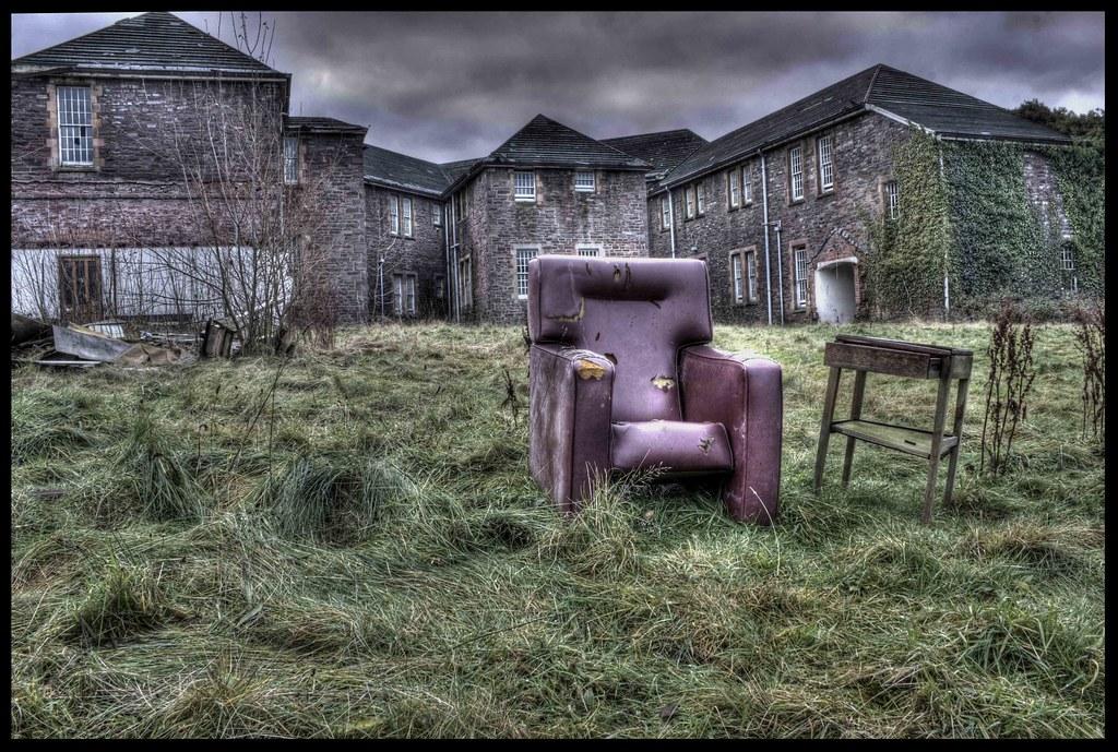 Chair of the Bored at Talgarth Mental Hospital  An