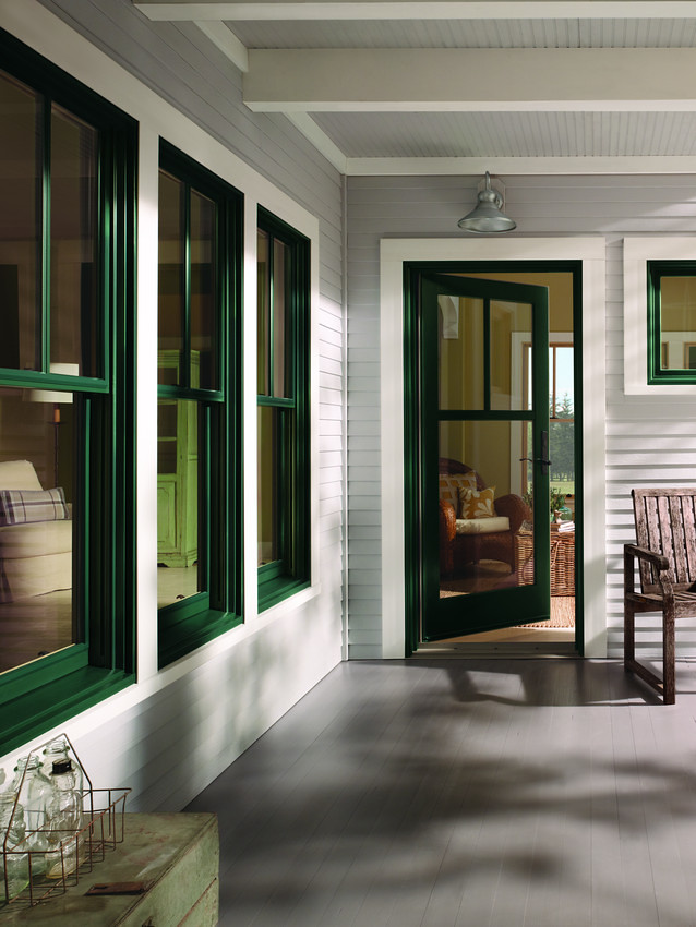 400 Series Windows And Patio Door With Exterior Trim Flickr