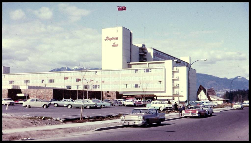 Bayshore Inn Vancouver 1960  Howard Hughes who resided in
