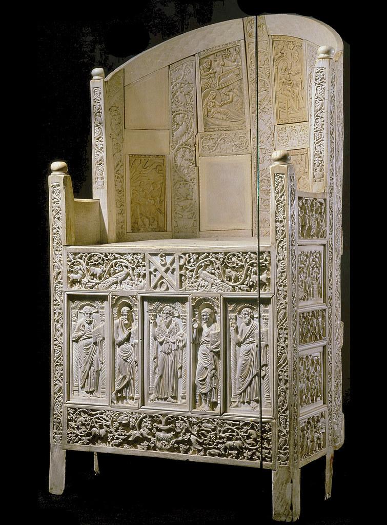 Ravenna  Archbishop Maximians carved ivory throne  Flickr