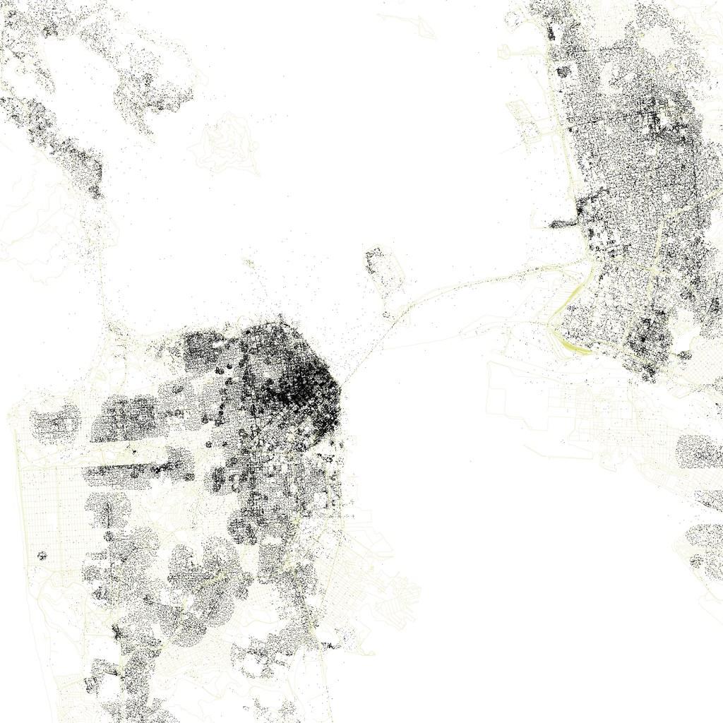 Crowdflow Iphone Location Data For San Francisco Oakla