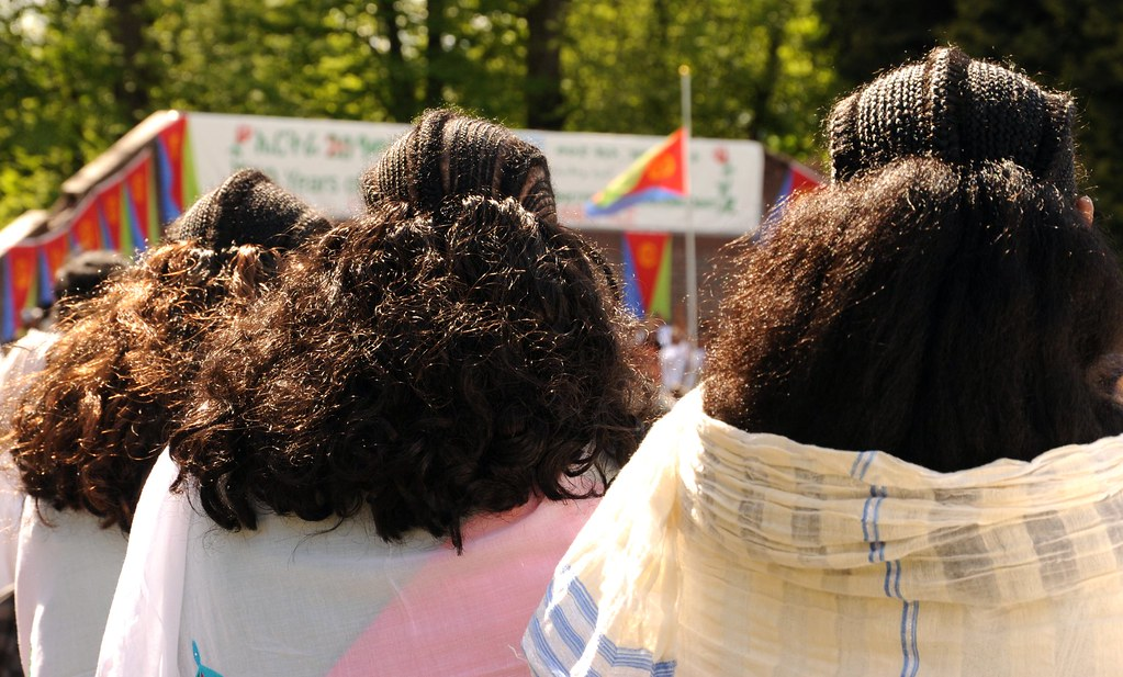 Traditional hair style from the land of Punt Eritrea 3