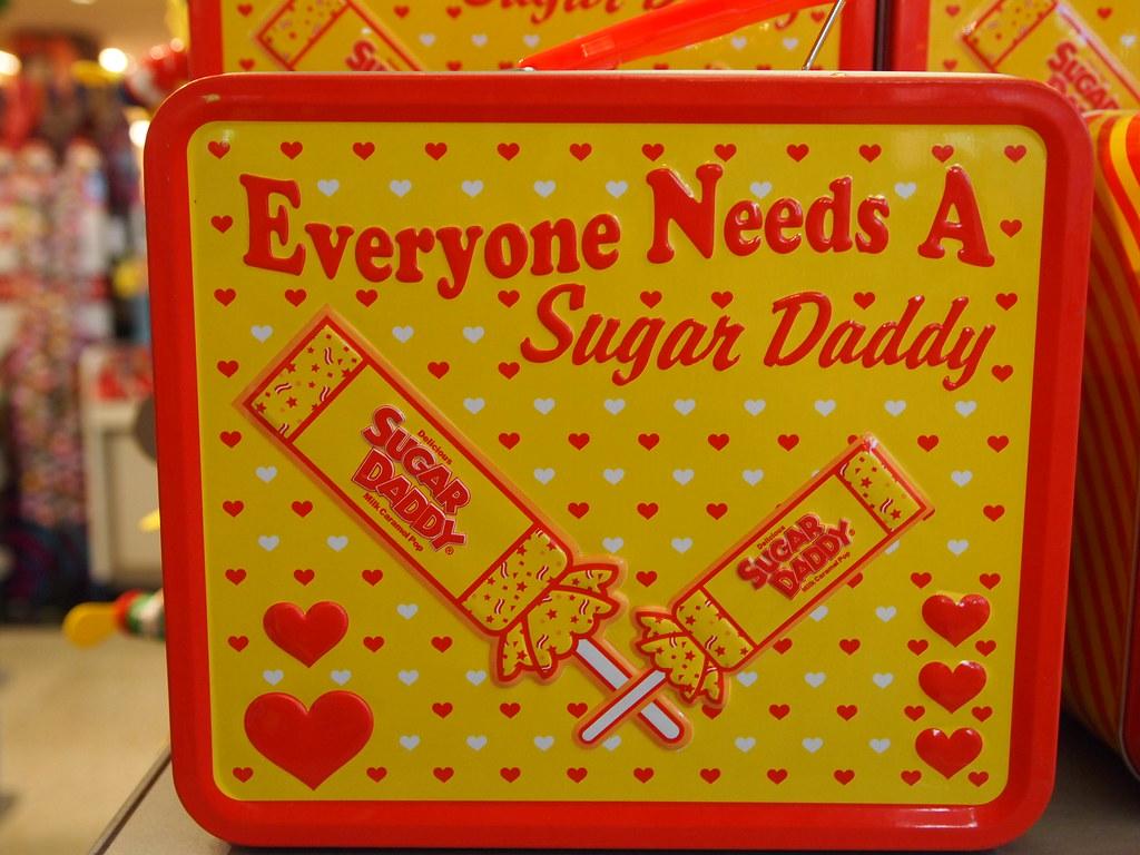 Sugar Daddy  What a wonderfully truthful lunchbox