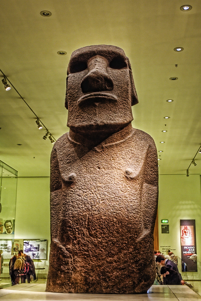 Easter Island Statue at the British Museum  This is one