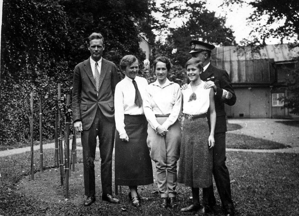 Charles Lindbergh Karlskrona 1933  Piloten Charles