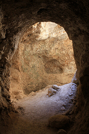Manger In Cave Bethlehem I Was Very Much Taken By This