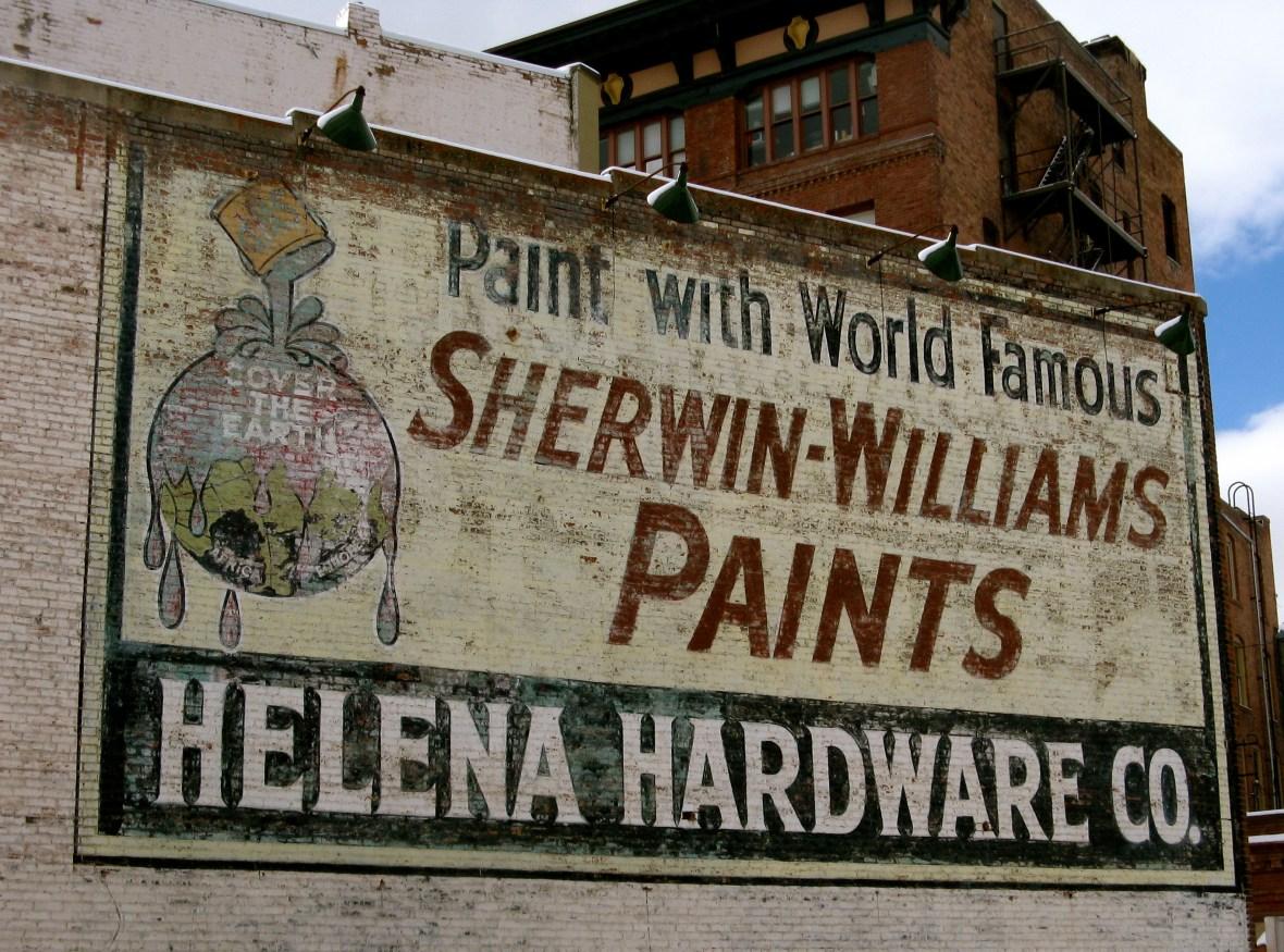 Helena Hardware Co./Sherwin-Williams Paints - Helena, Montana U.S.A. - February 21, 2011