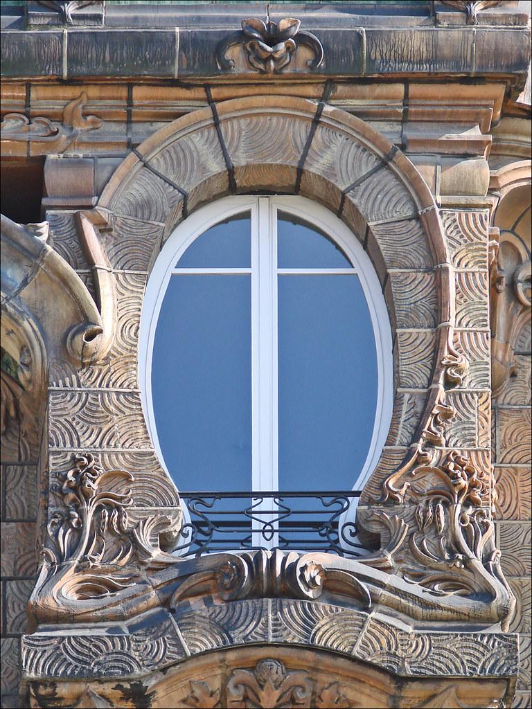 Immeuble art nouveau de Jules Lavirotte  Paris  Une