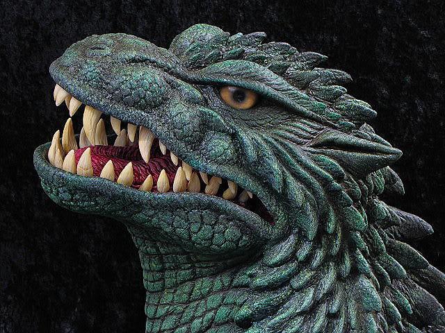 Godzilla Halloween Mask 19992000 Gojira Paul Ferguson
