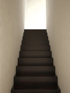 Render of Our Stairwell Looking Up