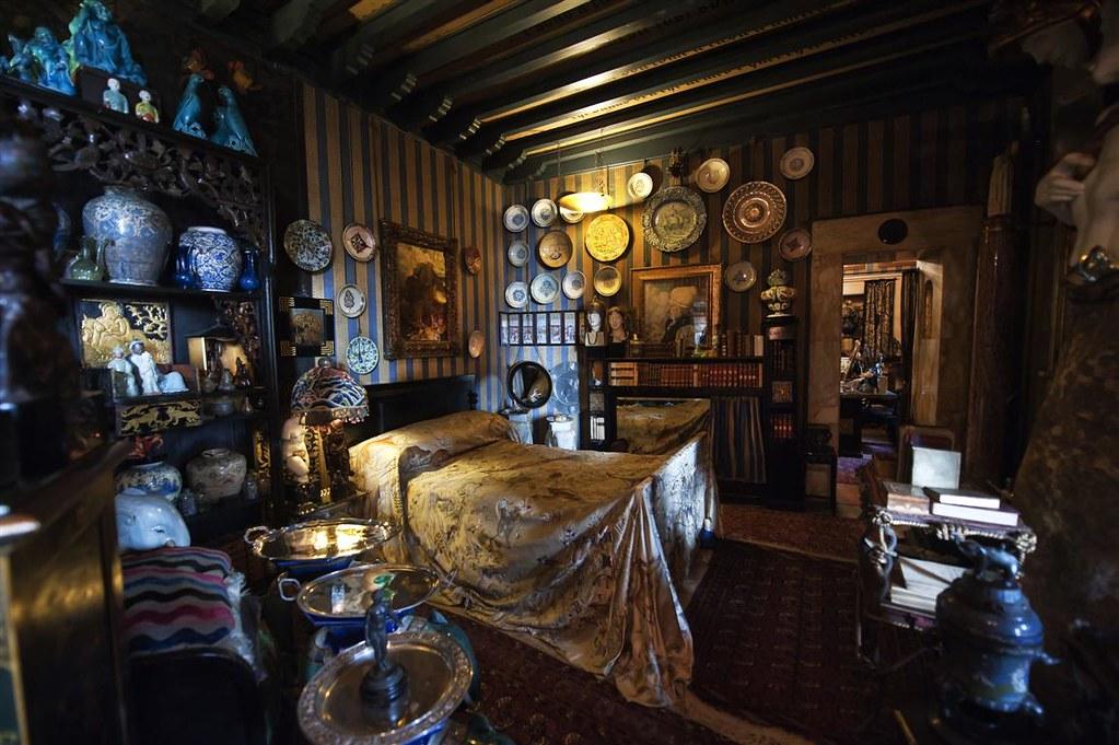 Prioria  Stanza della Leda  La stanza da letto di