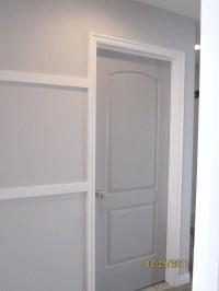"""Door Paint   Doors - Behr's """"Gray Timber Wolf"""". Walls ..."""