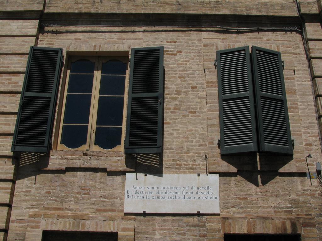 Casa Leopardi la biblioteca Recanati Marche Italia ma  Flickr