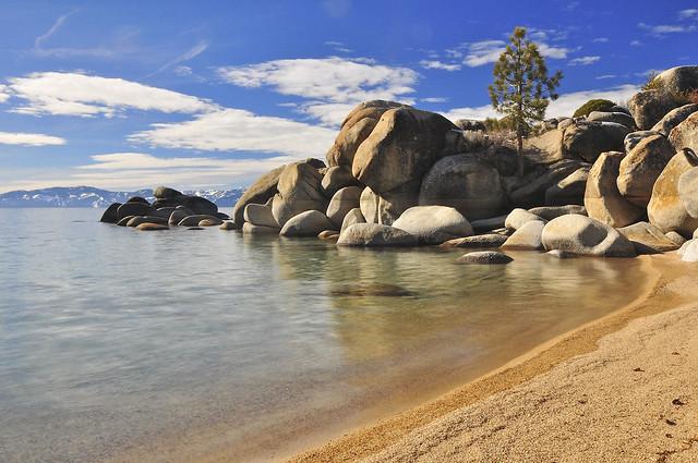 Chimney Beach East Shore Lake Tahoe Nv Here S A Shot