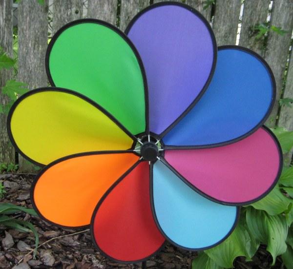 Pinwheel Mom Colorful In