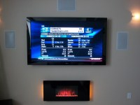 """ClassicFlame 35"""" Wall Hanging Electric Fireplace - 35HF500 ..."""