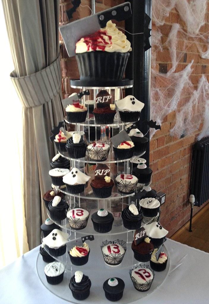 13th Birthday Horror Cupcake TowerThe Carriage Hall Notti