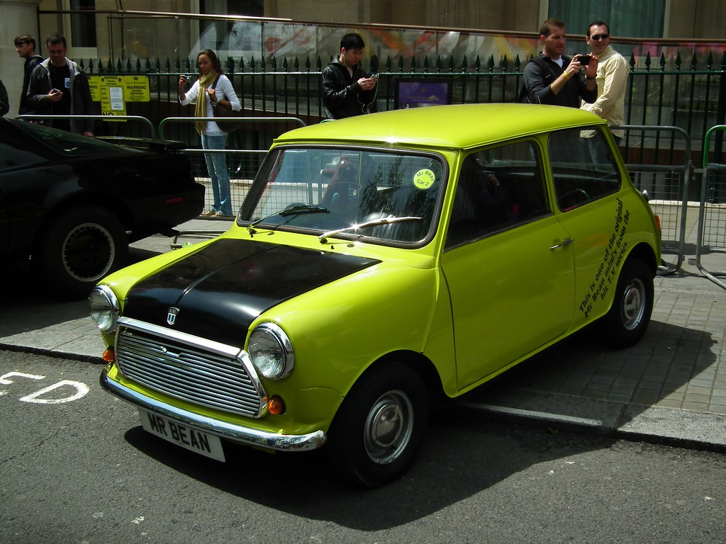 Mr Beans Mini Supposedly One Of The Original British