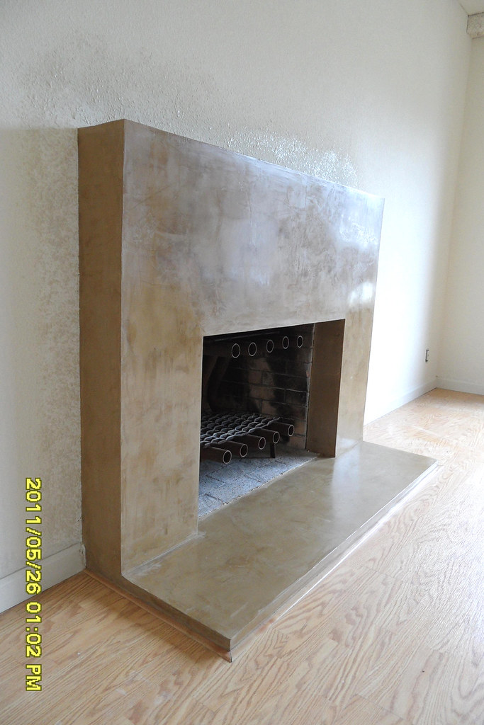 nicoles fireplace polished venetian plaster  Terry Drywall Excellence  Flickr