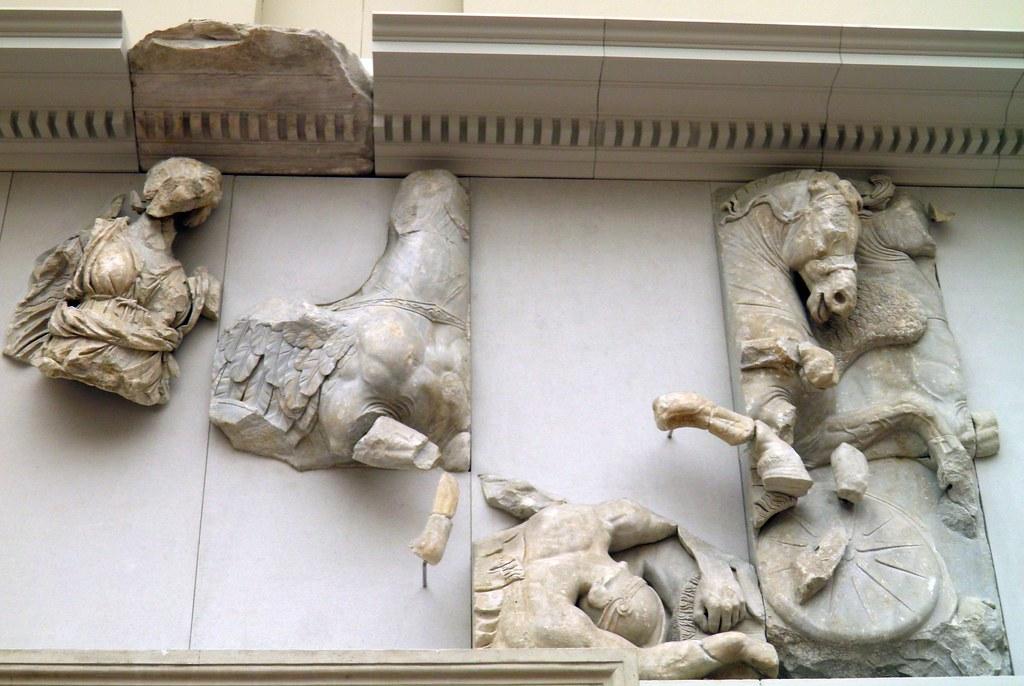 Hera East Frieze Gigantomachy Frieze Pergamon Altar Pe