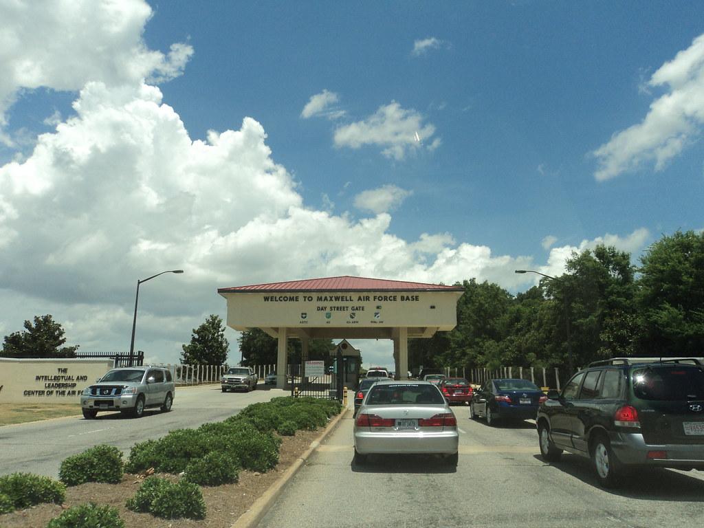 Maxwell AFB AL | Day Street gate to Maxwell AFB AL | Ann ...