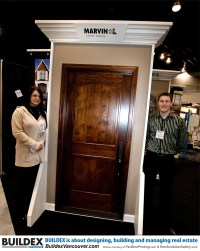 MARVIN ENTRY DOORS- featured at Buildex Vancouver-Photos C ...