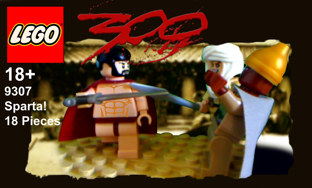 lego 300 box  My first attempt at making a fake lego set I  Flickr