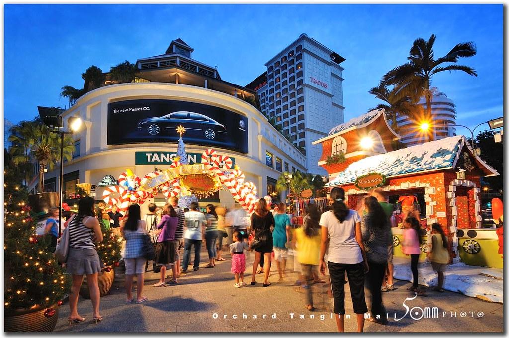 Singapore Orchard Road  tanglin mall  christmas at