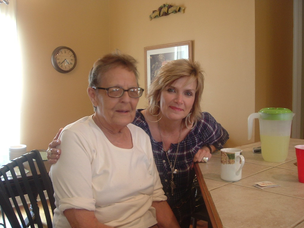 Stella Mother in law and Donna Carline  CJ Black  Flickr