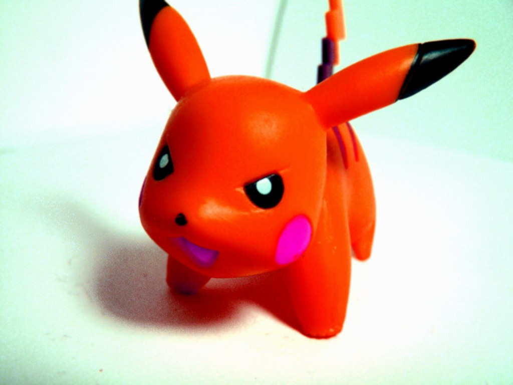 Red Pikachu  Could Pikachu be angry I spend about an